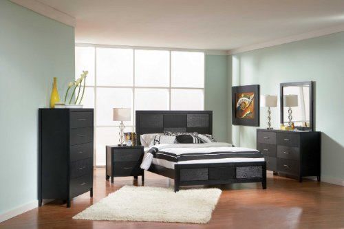 Coaster Home Furnishings Grove 6-Drawer Dresser Black