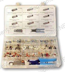 Platinum Tools 90125 SealSmart Field Installation Kit, Nickel. Kit Box. - Nickel Tool Box