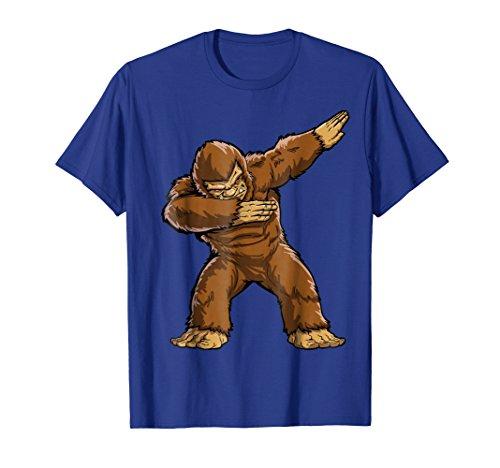 Bigfoot Sasquatch Dabbing T Shirt Funny Dab Monster -