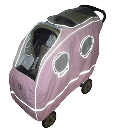 b5f9972a7309 Amazon.com   Warm as a Lamb Tandem Stroller Cover Pink   Baby ...