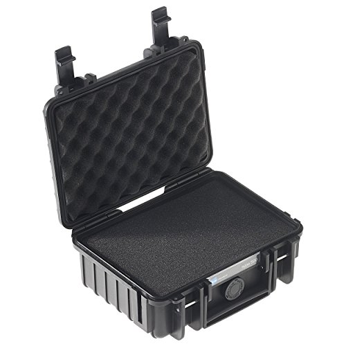 Type 500 Outdoor Case with SI Foam, Black by B&W International