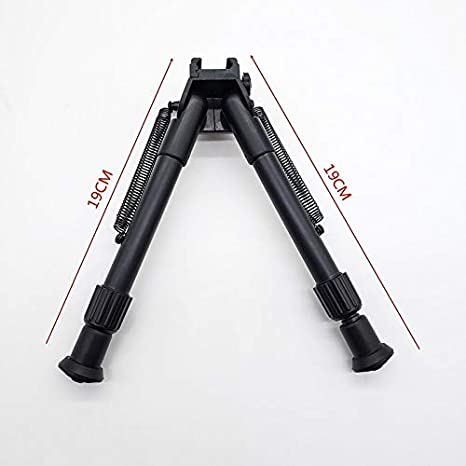 For Airsoft M4 Barrett Bracket Modificado 20-23mm Pista Pistola de Agua de pl/ástico tr/ípode t/áctica competitiva Bricolaje Accesorios de Paintball Color : A Set SHIYM-JJIA