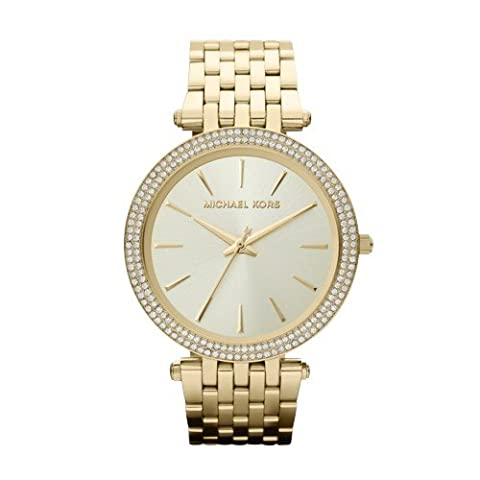 Michael Kors Women's Darci Gold-Tone Watch MK3191 (Gold Tone Metal Watch)