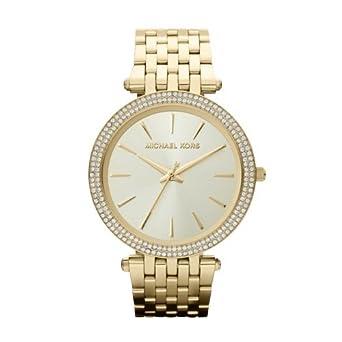 cb3a42c41e9b Amazon.com: Michael Kors Women's Darci Gold-Tone Watch MK3191 ...