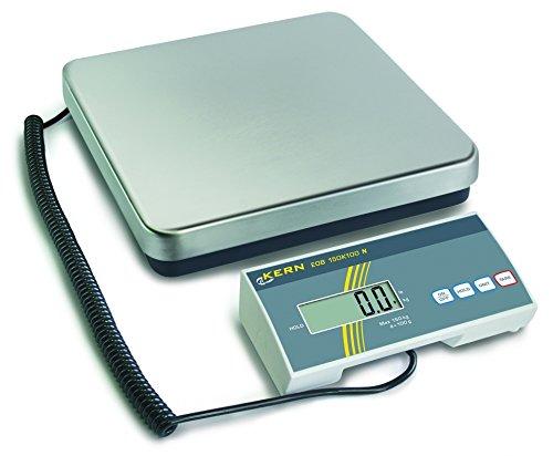 Paquet de balance alimentaire et Vétérinaire [Kern EOB 35K10] avec une plus grande Résolution, capacité [Max]: 35kg, graduation [d]: 10g, plateau de pesée: LxPxH 315x 305x 65mm (Inox
