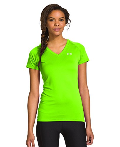 Under Armour Womens UA TechGäó Short Sleeve V-Neck