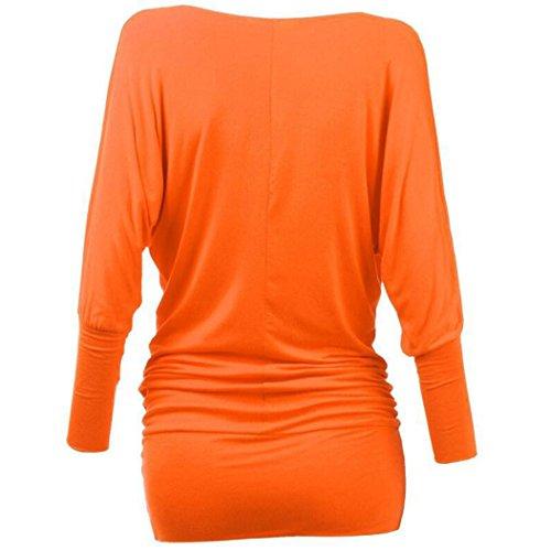MTTROLI - Camisas - para mujer naranja