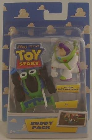 Toy Story Buddy 2 Figure Pack - Buzz/RC: Amazon.es: Juguetes y juegos