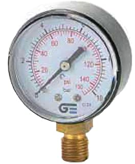 Genebre 3820 010 - Manometro Radial 3820-10 0-10B-0.150Psi