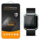 Supershieldz [2-Pack] for Fitbit (Blaze) Tempered Glass Screen Protector, (Full Screen Coverage) Anti-Scratch, Anti-Fingerprint, Bubble Free, Lifetime Replacement