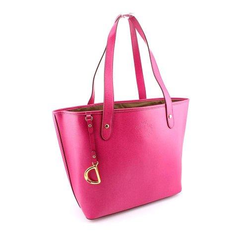 Lauren Ralph Lauren Newbury Classic Tote – Pink - Tote Pink Lauren Ralph