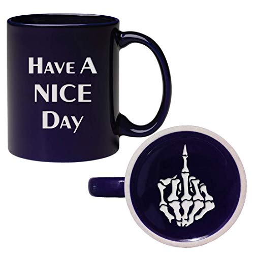 Engraved Have A Nice Day Coffee Mug, Funny Cup with for sale  Delivered anywhere in Canada