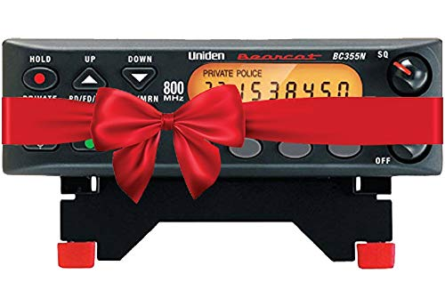 """Uniden BC355N 800 MHz 300-Channel Base/Mobile Scanner, Close Call RF Capture, Pre-programmed Search """"Action"""" Bands to Hear Police, Ambulance, Fire, Amateur Radio, Public Utilities, Weather, and More"""