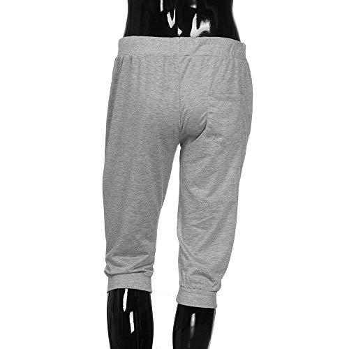 Sportivi Festivo Estivi Da Allenamento Fit Abbigliamento Schwarz Pantaloncini Jogging Uomo Lannister Slim Elasticizzati B6qWn515z