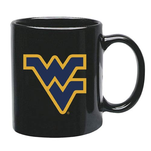 West Virginia Mountaineers Ceramic - Memory Company West Virginia Mountaineers 15 oz Black Ceramic Coffee Cup