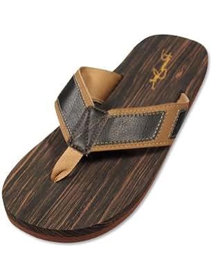 Panama Jack - Mens Flip Flop Sandal, Brown, Tan 29245-X-Large