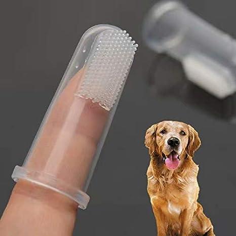 5PCS Cepillo de dientes de dedo para perros y gatos, masajeador, de silicona, suave: Amazon.es: Bricolaje y herramientas