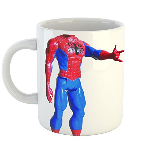 Westlake Art Action Figure - 11oz Coffee Cup Mug - By Modern Picture Photography Artwork Home Office Birthday Gift - 11 Ounce (New Spiderman Costume Images)