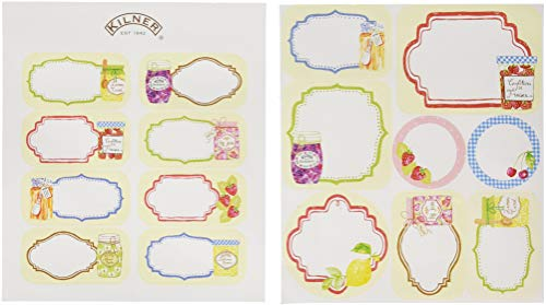Kilner Pantry 24-Piece Adhesive Label Set