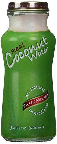Taste Nirvana Real Coconut Water 9.5oz (Pack of 12)