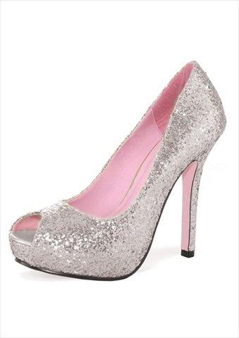 Chaussures Leg Paillettées Ella Shoes Avenue Talons nWnUOHS