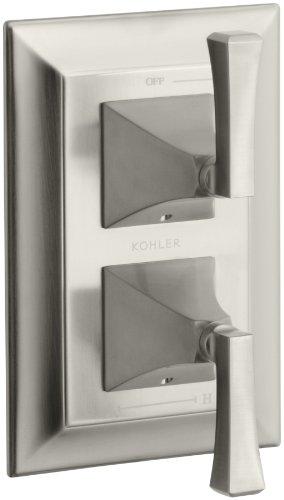 KOHLER K-T10422-4V-BN Memoirs Stacked Valve Trim with Stately Design, Vibrant Brushed Nickel