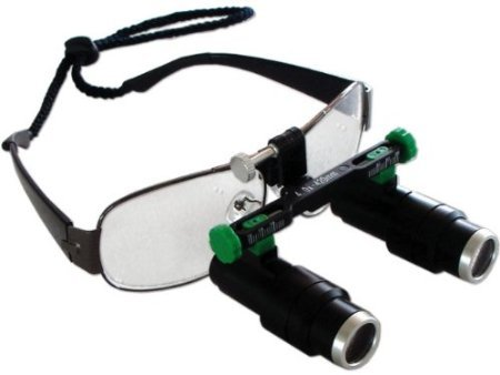 Three Different Magnification Times Magnifying Glass FD-501-K for Dentist by Superdental (5.0X)