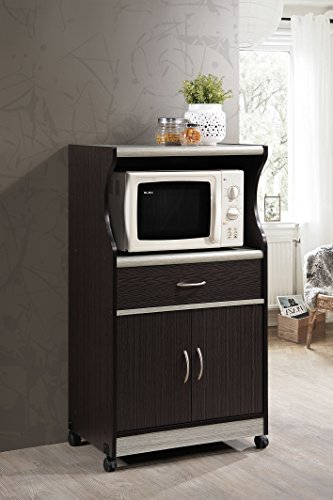 HODEDAH IMPORT Microwave Cart HODEDAH IMPORT Microwave Cart ... & Black Microwave Cart Is A Popular Choice With Many People