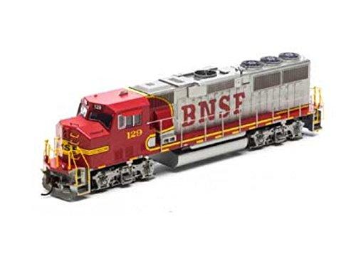 HO RTR GP60M BNSF Red Silver - Ho Athearn Handrail