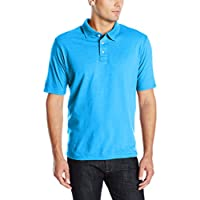 Hanes Mens X-Temp Performance Polo Cleaning Shirt - front