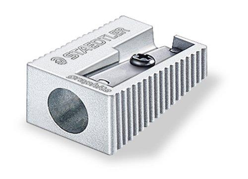 Staedtler sharpener silver (Single Hole Sharpener)
