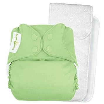 4.0 bolsillo pañal de tela - Snap - Grasshopper - One Size