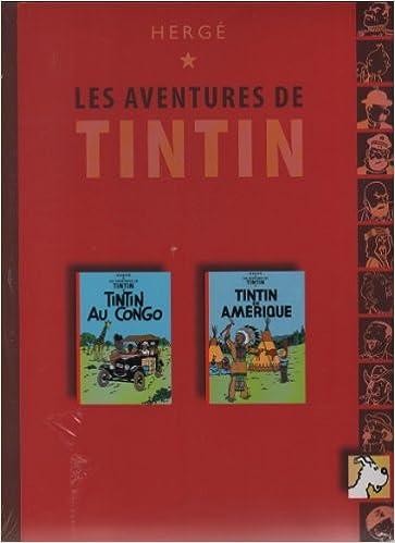 bd771a8cc0 Amazon.fr - Tintin au Congo   Tintin en Amérique Tintin (Éditions France  loisirs