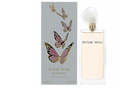 Hanae Mori by Hanae Mori for Women - 3.4 Ounce EDT Spray (3.38 Ounce Edt)