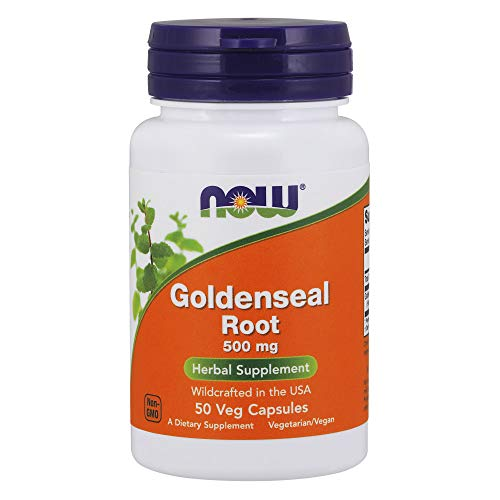 - NOW Supplements, Goldenseal Root 500 mg, 50 Capsules