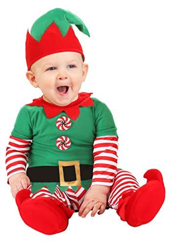 Infant Christmas Costumes (Christmas Elf Infant Costume 0/3)