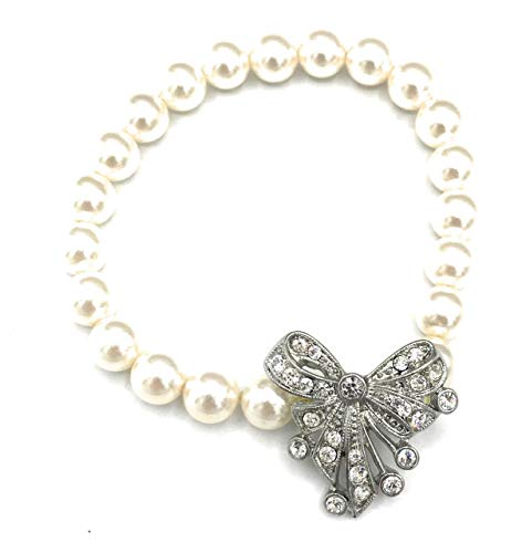 Chloe + Isabel Pearl Stretch Bracelet - B060CL