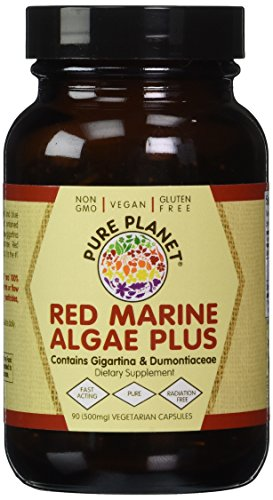 Red Marine Algae Plus Pure Planet Products 90 (Pure Planet Green)