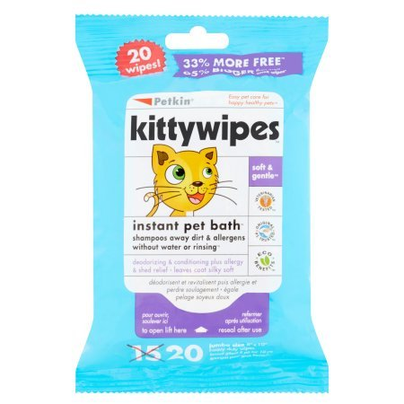 quick bath wipes for cats - 8
