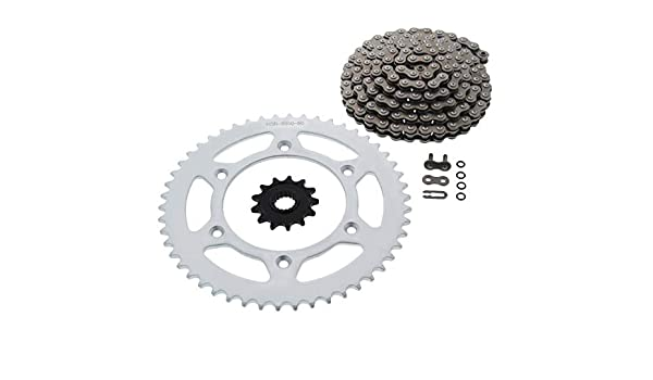 compatible with Honda CRF450R CRF450X 13//48 RED Renthal Grooved Front /& Ultralight Rear Sprockets /& R3 O-Ring Chain Kit