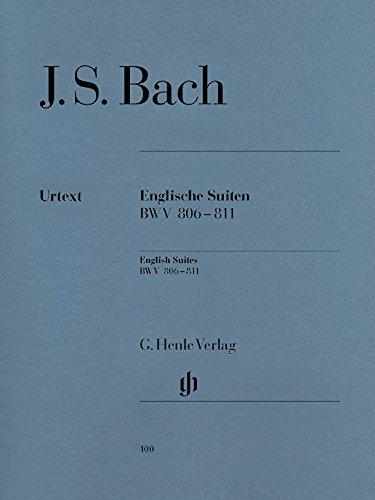 SUITES INGLESI BWV806-811 (Inglese) Spartito musicale – 1 mag 1958 Johann Sebastian Bach Henle Verlag B000EBFWIU HN 100