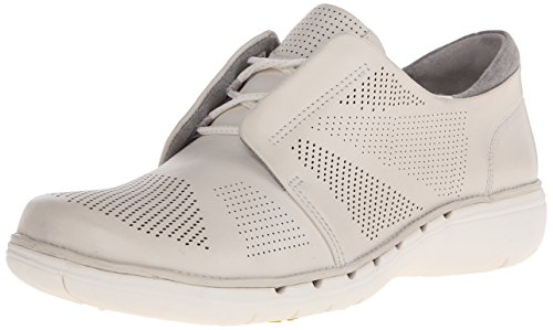 Clarks Un zapato que camina del Voltra Cuero blanco