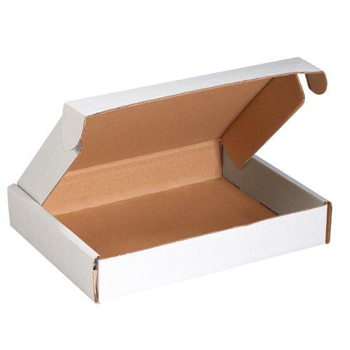 3 White Literature Mailers (Aviditi MFL12123 Deluxe Literature Mailer, 12