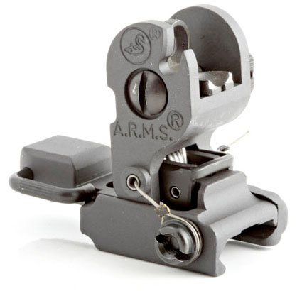 A.R.M.S., Inc. Sight Black ARMS #40 with A2 Aperture by Mars