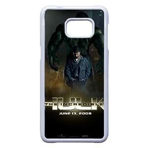 Increíble Hulk K7M01S9GK funda Samsung Galaxy S6 Edge Plus caso funda blanca 8GA64W