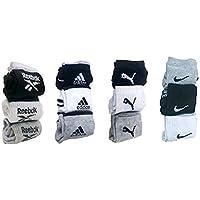MOTOWAY Multi Casual Ankle Length Socks Set of 12