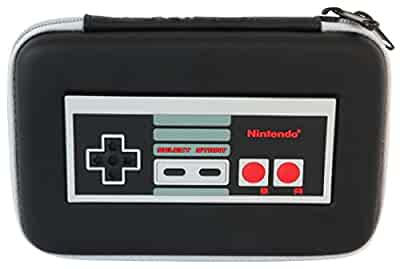 hori retro nes controller hard pouch for nintendo new 3ds xl nintendo 3ds video games. Black Bedroom Furniture Sets. Home Design Ideas