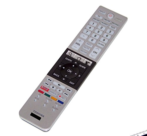 OEM Toshiba Remote Control Originally Shipped With: 65L9300, 65L9300U, 84L9300, 84L9300U