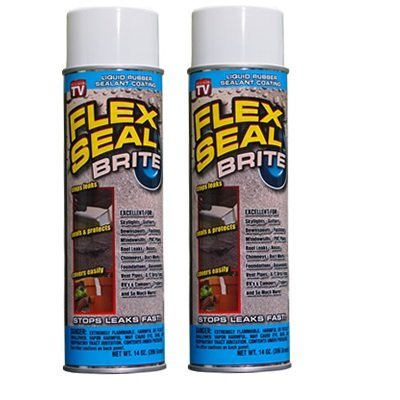 Flex Seal Brite - 2 Cans, 14 Ounce by Swift Response, LLC