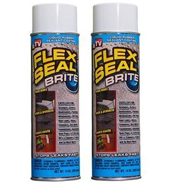 Flex Seal Brite - 2 Cans, 14 Ounce